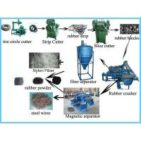 Buy cheap High Output Tire Recycling Machine Industry Floor Area 200㎡ - 500㎡ from wholesalers