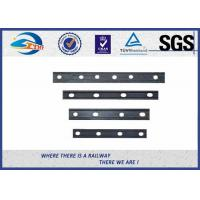 Buy cheap Ordinary rail joints fish plates joint bars on a railway track from wholesalers