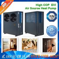 Buy cheap 380v High COP EVI Scroll Compressor Low Ambient Heat Pump With Galvanized Steel Cabinet from wholesalers