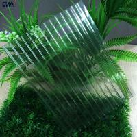 Buy cheap Construction Materials 6mm PC Hollow Sheet , twin walled polycarbonate sheets from wholesalers