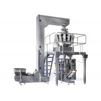 Buy cheap Flat Bag VFFS Packing Machine With 10 Heads Computer Combination Scale from wholesalers