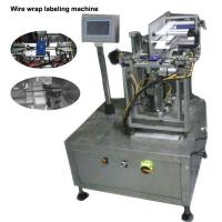 Buy cheap Wire / Cable Semi Automatic Labeling Machine High Labeling Accuracy from wholesalers