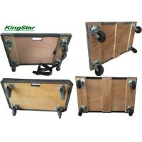 Buy cheap Heavy Duty Carpeted Furniture Moving Dolly With Plywood Deck And Thick Grey Carpet from wholesalers