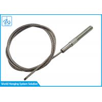 Buy cheap 2.5mm Steel Custom Wire Rope Assemblies With M8 Threaded Studs from wholesalers