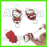Buy cheap Custom pvc cute cartoon figure animal easy to pull buckles for keys certificate from wholesalers
