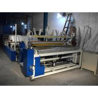 Buy cheap Automatically toilet paper rewinding embossing machine making toilet paper small roll from wholesalers