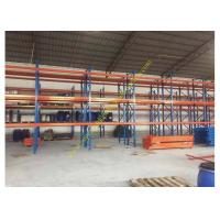 Buy cheap Corrosion protection Warehouse Storage Racks , Commercial Steel Selective Pallet Rack from wholesalers