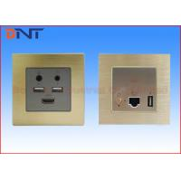 Buy cheap Flush Mounted Mini Media Hub With USB Power Charge Port 5 V 2.1 A from wholesalers