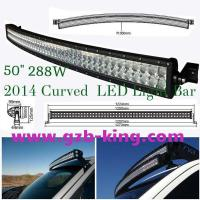 "Buy cheap 2014 New 50"" 288W 3W/CREE Curved LED Light Bar Spot/Flood Beam product"