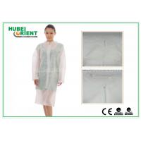 Buy cheap Hospital Surgical Lab Coats / White Lab Coat For Women , MP Tyvek Materials from wholesalers