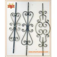 Buy cheap forged iron bar,forged iron baluster,ornamental baluster for garden fence and gate from wholesalers