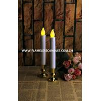 Buy cheap Extra Bright Flameless LED Taper Candles, Auto Timer and Removable Base from wholesalers