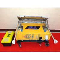 Buy cheap Brick Wall Automatic Plastering Machine , Indoor Plaster Rendering Machine product