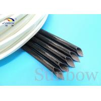 Buy cheap High Voltage Silicone Rubber Extruded heat resistant sleeving for cables from wholesalers