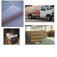 Buy cheap hot sale self adhesive white vinyl wraps from wholesalers