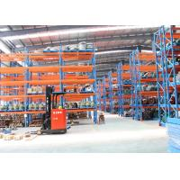 Buy cheap Cold Roll Steel Pallet Storage Racks / Multi Tier Racking System 88*66*2.0 Mm Uprights from wholesalers