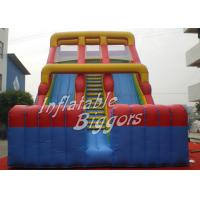 Buy cheap Birthday Party Kids Inflatable Slip And Slide Rental ASTM F963 With Double Lane from wholesalers