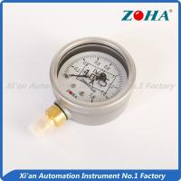 Buy cheap Eco Friendly Oil Filled Pressure Gauge For Chemical Industry OEM Supply from wholesalers
