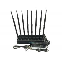 Buy cheap High Power Cell Phone Signal Jammer , Cell Phone Blocker Jammer Eight Antennas from wholesalers