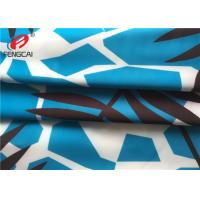 Buy cheap Waterproof Breathable Polyester Spandex Fabric / Printed Lycra Fabric For Bikini product