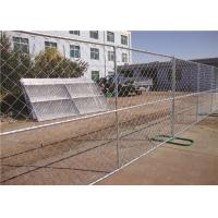 Buy cheap Freestanding 6ft Chain Link Fence Panels , Mobile Portable Chain Link Fence from wholesalers