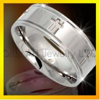 Buy cheap stainless steel inlay ring for men fashion design from wholesalers