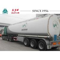 Buy cheap 48000 Liters 3 Axle Fuel Tanker Semi Trailer For Gas Station from wholesalers