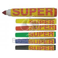 Buy cheap Whiteboard yellow, orange, pink ink color Permanent Marker Pens with logo printing BT7035 from wholesalers