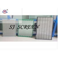 Buy cheap 40mm Thickness Durable Oilfield Screens Length 1165 Mm W8ith Width 585 Mm product