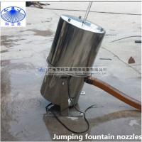 Buy cheap 304 stainless steel Crystal jumping jets fountain nozzle with led light from wholesalers