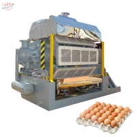 Buy cheap 1.8*1.1*1.9m 15KW Fully Automatic Egg Tray Machine from wholesalers