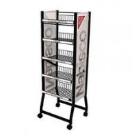 Buy cheap Professional Metal Wire Display Racks Powder Coating For Nail Polish Customized Logo from wholesalers