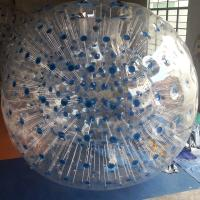 Buy cheap Blue Clear Ramp Dot Inflatable Zorb Ball from wholesalers