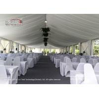 Buy cheap Flame Retardant Wedding Marquee Tent , Luxury Wedding Reception Tent Wind Resistant from wholesalers