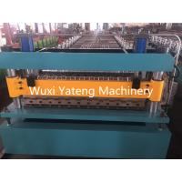 Buy cheap PPGI Roofing Corrugated Sheet Roll Forming Machine 18 - 26Stations 235Mpa Yield Strength from wholesalers
