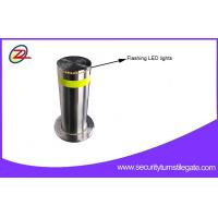 Buy cheap Rugged Automatic Retractable Security Bollards / Hydraulic Rising Bollards For Bank from wholesalers