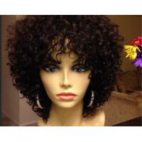 Buy cheap Smooth Mixed Color  Brazilian Curly Human Hair Extensions Can Be Dye Permed from wholesalers