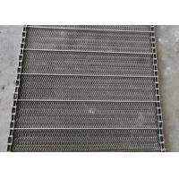 Buy cheap Stainless Steel Spiral Balanced Conveyor Belts, Laser Cut Machine Flex Mesh Belt from wholesalers