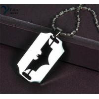 Buy cheap Stainless Steel Batman dark knight design pendants from wholesalers