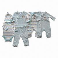 Buy cheap Baby Clothing Set/Baby Sleepwear/Baby Romper/Baby Onsies/Infant Layette Set/Baby Beanies from wholesalers