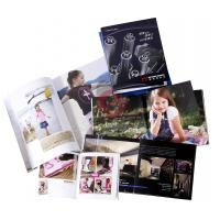 Buy cheap Spot UV, embossing, silver Customized Colour Brochure Printing with Spiral, Glued from wholesalers