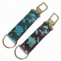Buy cheap Promotional Gifts Carabiner/Polyester Keychains, Sublimation Logo Keychains, Souvenir Keychains from wholesalers