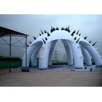 Buy cheap Airtight System 8 Legs Inflatable Air Dome Tent With CE Certificate , Air Pump from wholesalers
