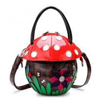 Buy cheap Mushroom Creative handbag fashion trend female cute cartoon character from wholesalers