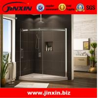 Buy cheap High quality product tempered glass bathtub frameless shower doors product