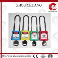 Buy cheap 76mm Long Shackle Security Wholesale Door Xenoy Safety Padlock with More Color from wholesalers