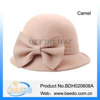 Buy cheap High quality girls wool felt cloche hat from wholesalers