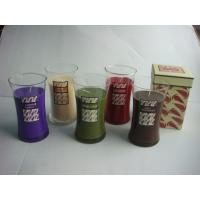 Buy cheap glass jar with candle product