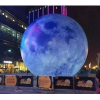 Buy cheap Customized digital printing Inflatable Lunar model from wholesalers