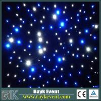 Buy cheap Blue+White led star curtain event stage decorations  high quality Led Star Cloth from wholesalers